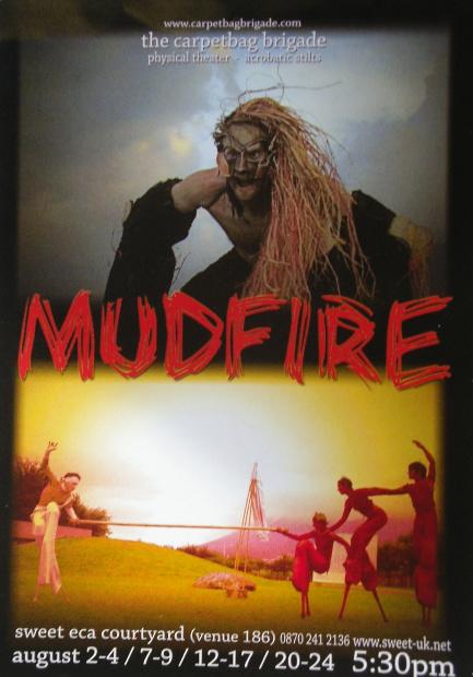Mudfire Postcard