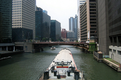 Chicago River - Jackson Boulevard Bridge