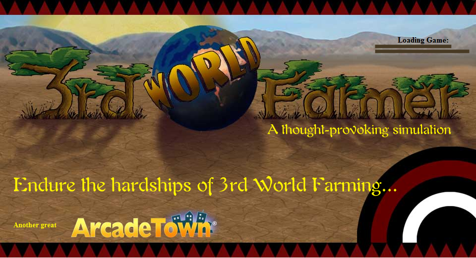 Splash Screen for 3rd World Farmer Game
