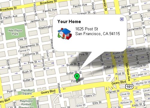 구글맵 선거정보지도(Vote Info Map)