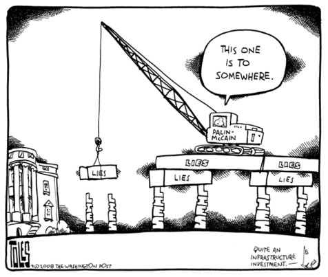 Cartoon by Tom Toles