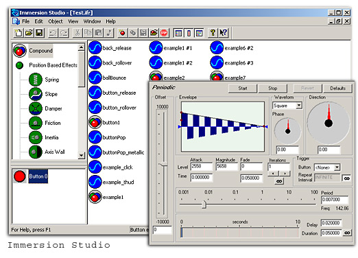 Immersion Studio Screenshot