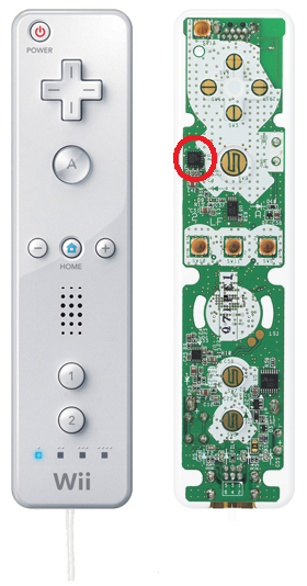 Inside Wii Remote - Anatomy from CNN