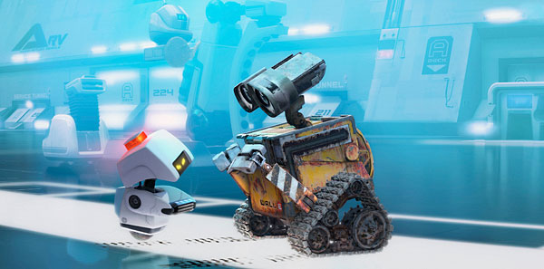 Mob with Wall-E