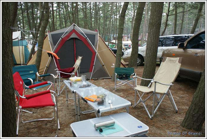 [Camping/몽산포] 해가 지는 곳 몽산포에서...1
