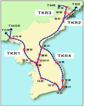 TKR(한반도종단철도)을 통한 대륙횡단철도의 완성!