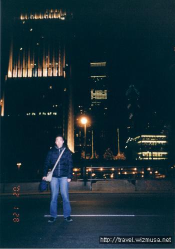 시카고 밤 거리