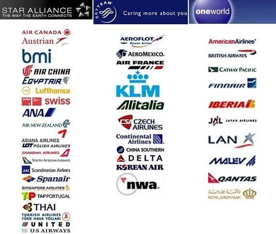 대표적인 항공 동맹체