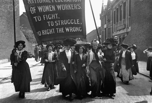 suffragette march