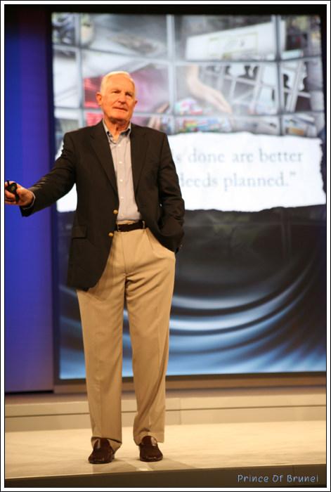 [2008 IDF Day 1]  크레이크 버랫 인텔 회장 기조연설 '혁신을 위한 환경 조성해야.'