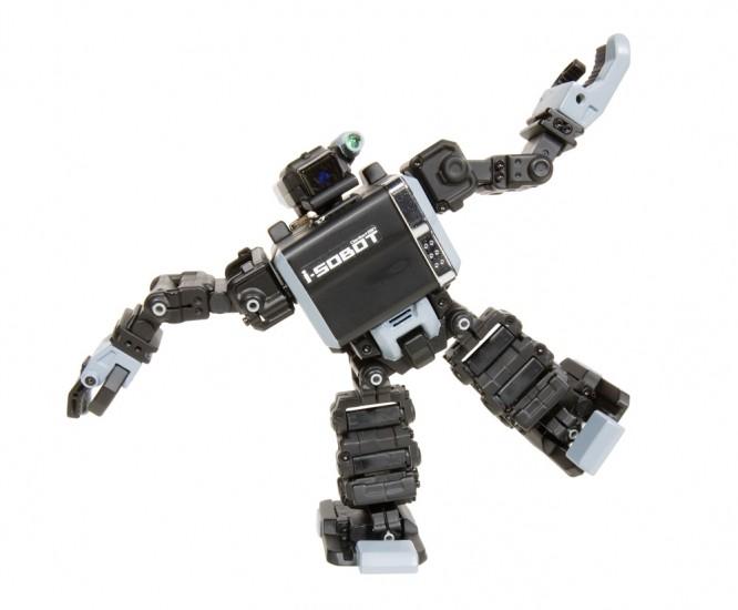 2족 보행로봇 아이 소봇(i-SOBOT)