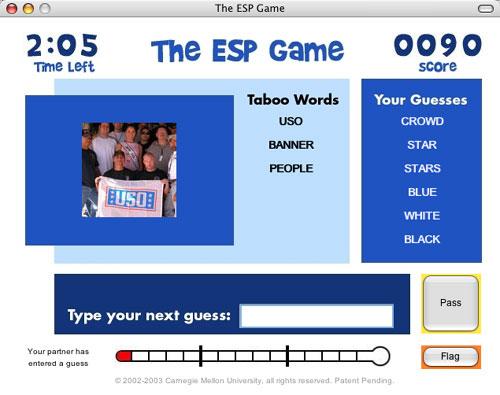 Image Tagging Game (ESP Game)