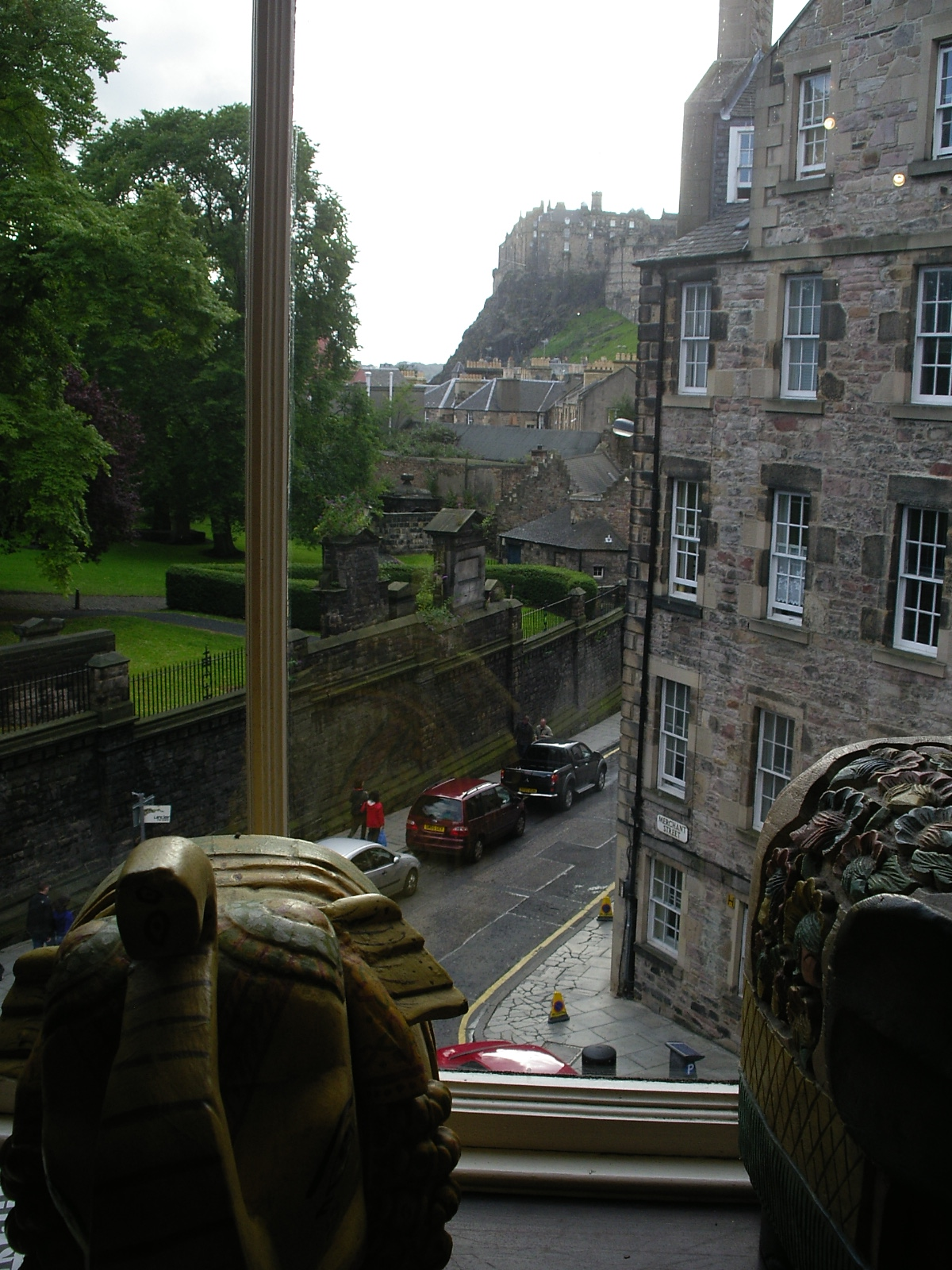 View from <the elephant house>, the birthplace of Harry Potter