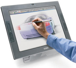 Wacom Citiq 21UX, tablet LCD screen