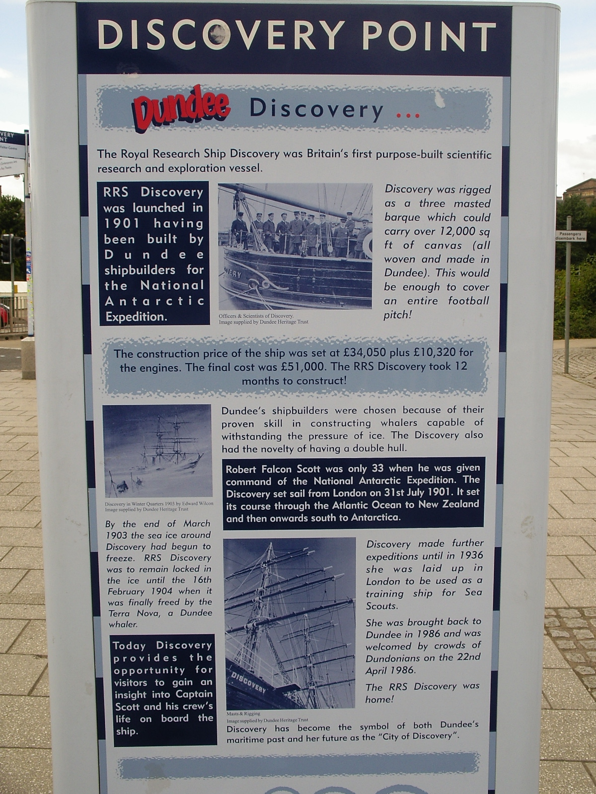 History of Dundee - RRS Discovery