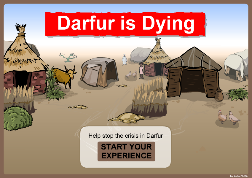 Darfur is Dying - Splash