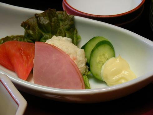 시모다야마토칸 아침식사