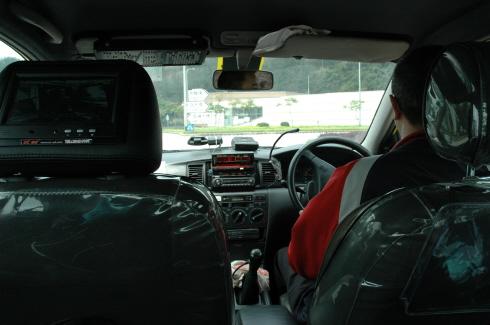 마카오 택시