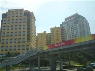 중국의 시내 모습